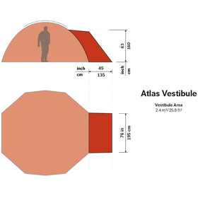 Hilleberg Atlas - Accessoire tente - marron